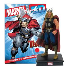 Мініатюрна фігура Герої Marvel 3D №05 Тор (Centauria) масштаб 1:16