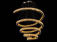 Хрустальная светодиодная люстра подвесная 1815-1000В, фото 1