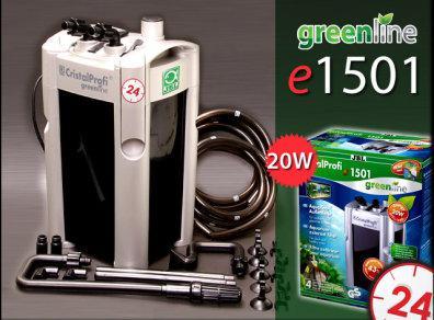 Внешний фильтр JBL CristalProfi GreenLine e1501 до 600л