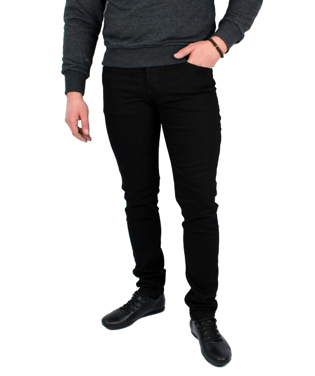 Черные джинсы зауженные H&M - BRAGG