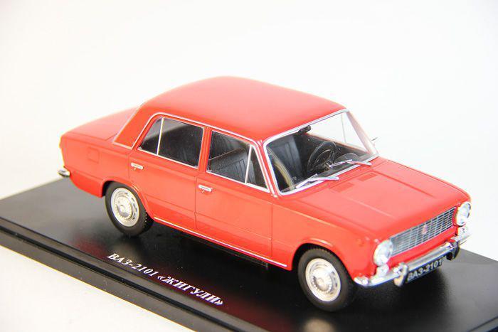 Легендарные Автомобили №04 ВАЗ-2101 Жигули | Модель коллекционная 1:24 | Hachett