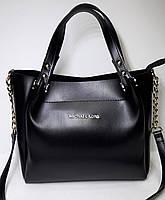 Женская сумка Майкл Корс/Прада черного цвета
