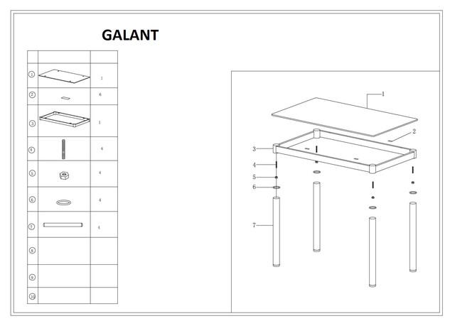 Galant_инструкция