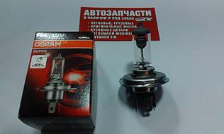 Лампа галогенна Osram Super H4 12V 55/60W +30%
