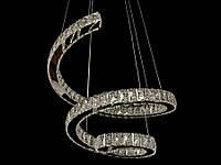 Хрустальная светодиодная люстра подвесная 1809-600А