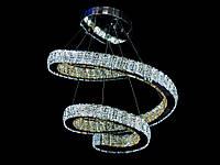 Хрустальная светодиодная люстра подвесная 1809-600В