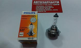 Лампа галогенна Philips H7 12V 55W +30%