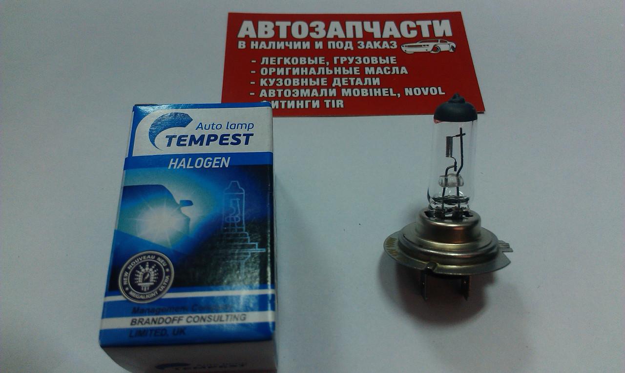Лампа H-7 100W 12V Tempest