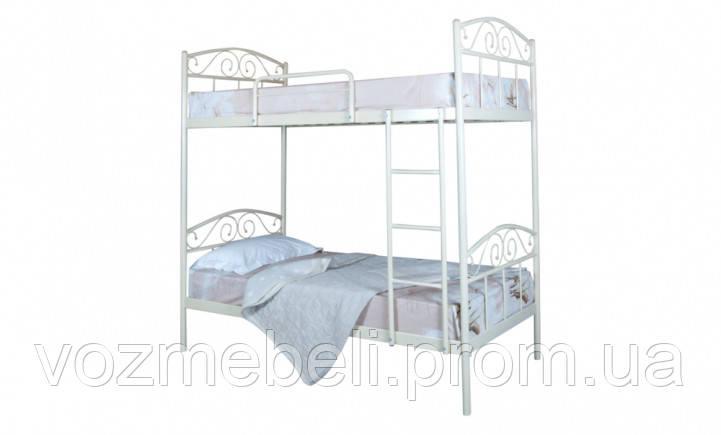 Ліжко Еліс Люкс двоярусна 90*200