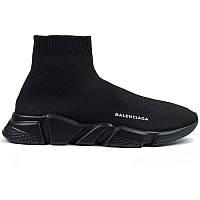 Кроссовки женские для бега Balenciaga (черные) Top replic