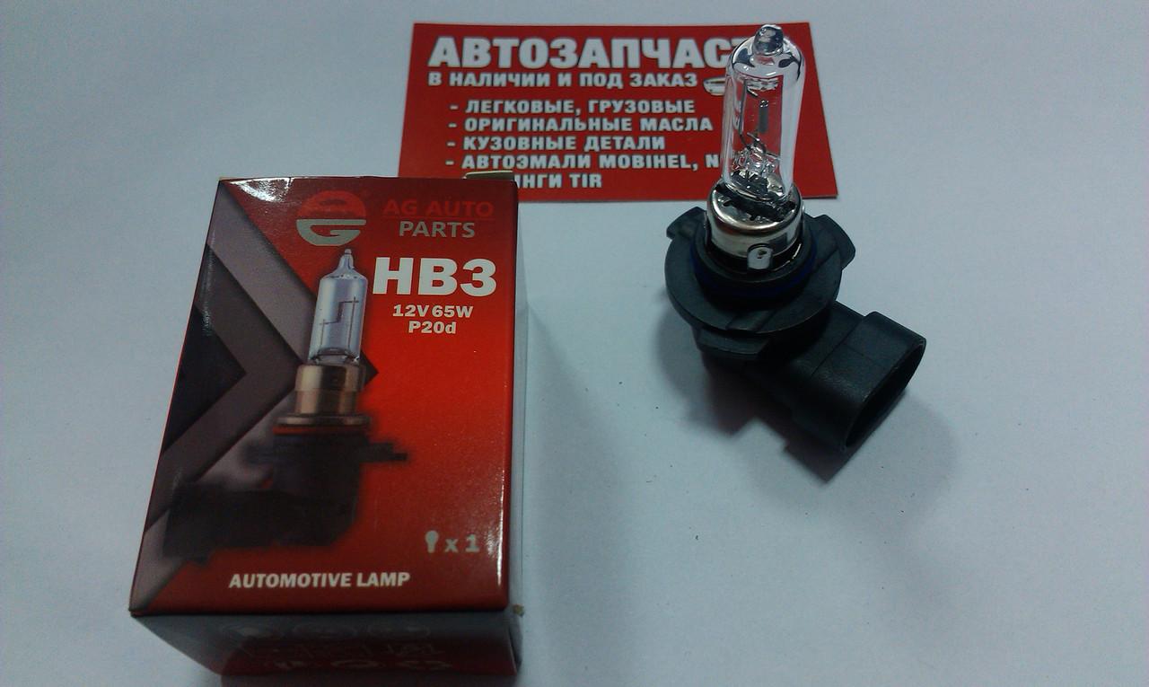 Лампа HB3 65W 12V AG Auto