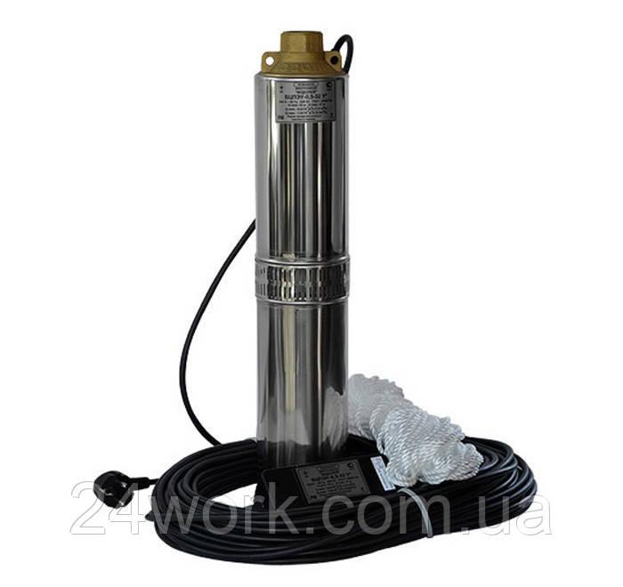 Скважинный насос Водолей БЦПЭ 1.2-80У
