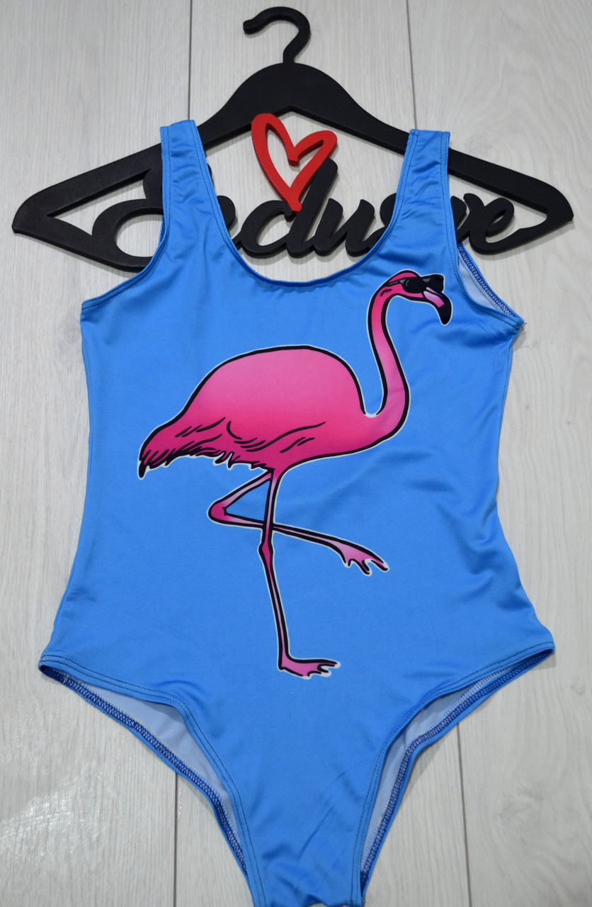 Купальник новинка Фламинго
