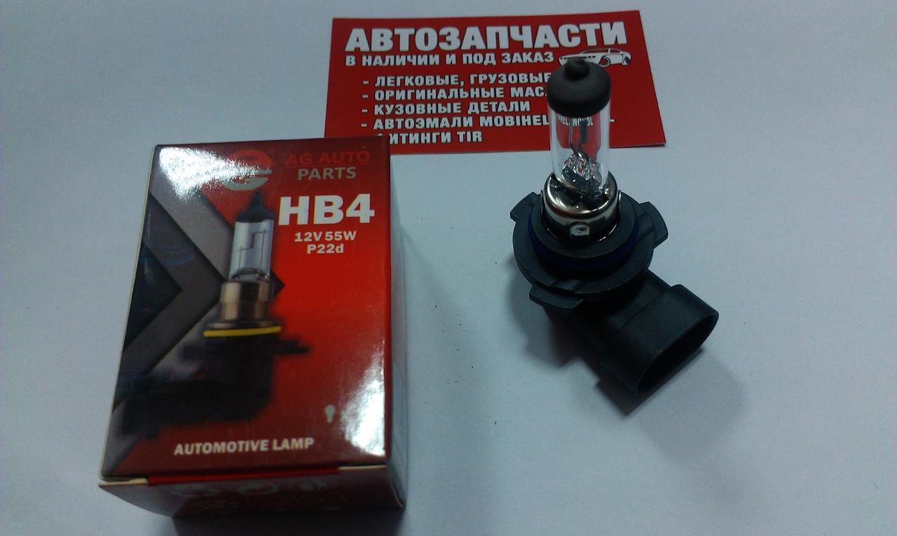 Лампа галогенная AG HB4 12V 55W