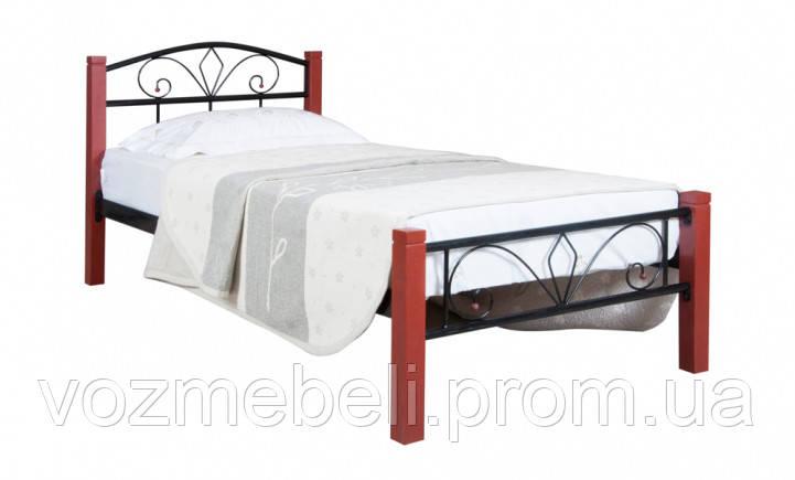 Ліжко Лара Люкс Вуд 90*200