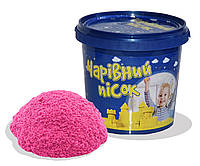 Набор для творчества Волшебный песок розовый 1кг