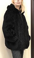 Куртка шуба норковая вязаная Jin Diaofur