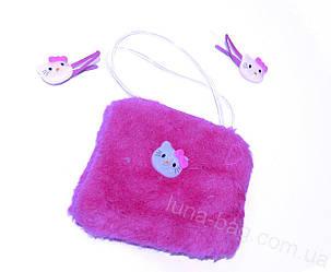 Детский набор для девочек 2014(сумочка и заколки)