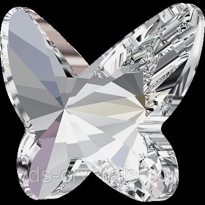 Стрази Сваровскі клейовий фіксації 2854 Crystal AB