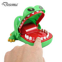 Крокодил дантист: игрушка! Пасть крокодила кусает палец!