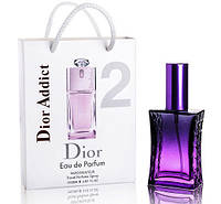 Мини парфюм Christian Dior Addict 2 в подарочной упаковке 50 ml (Реплика)