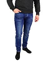 Синие мужские джинсы зауженные V.I.P. MARIO, фото 1