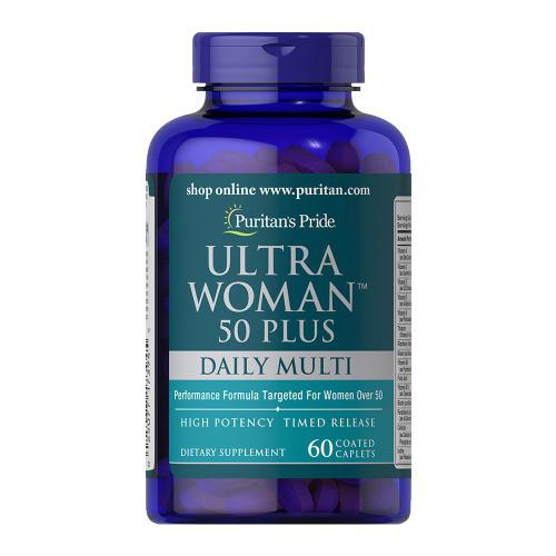 Puritans Pride Ultra Woman 50 Plus Multi-Vitamin 60caplets