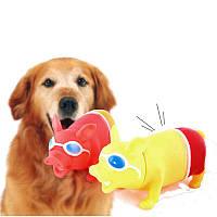 Большой размер Trick Screaming Pig Funny Squeeze Sound Уменьшить стресс Домашние животные Играя в Инструмент