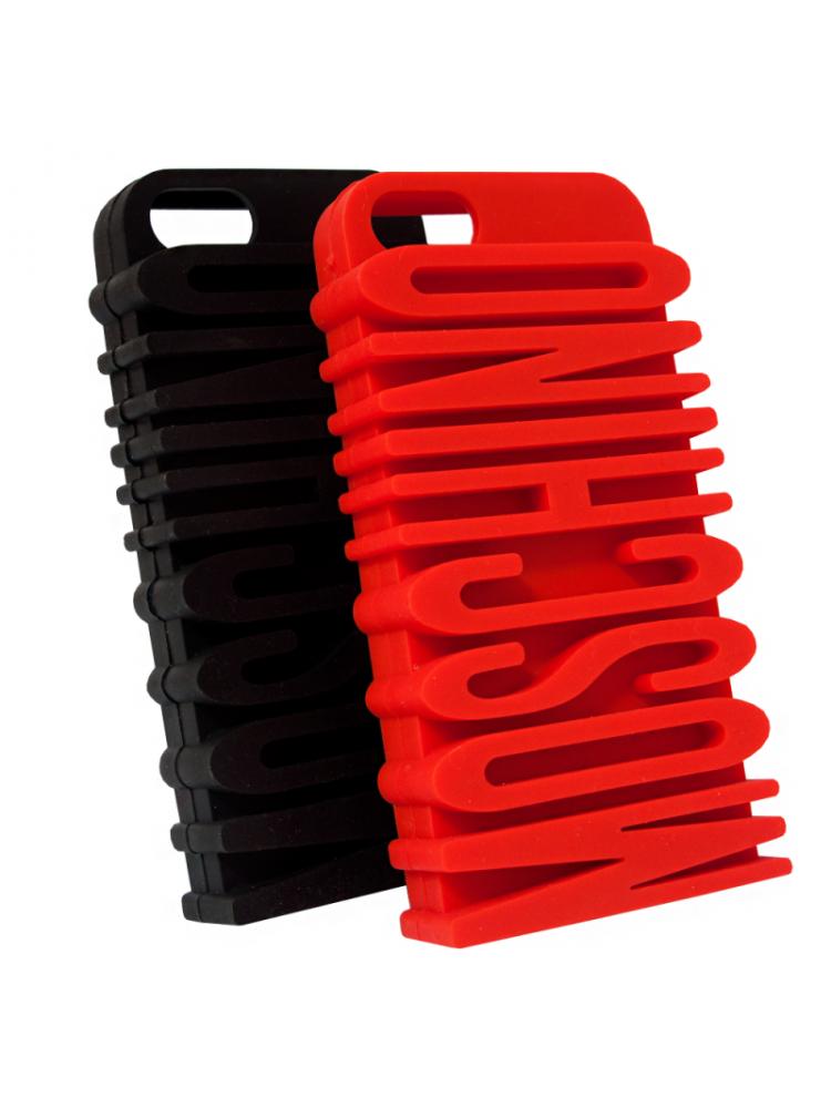 резиновый чехол Moschino на айфон iphone 6 plus / 6s plus