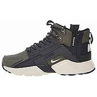 Кроссовки мужские Nike Air Huarache ACRONYM Camo White Black
