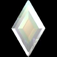 Кристаллы Swarovski для ногтей 2773 Crystal AB 5х3 мм (10 шт)