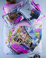 Постельное белье Karaca Home City - Cihangir ранфорс евро