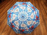 Зонт трость для мальчиков Человек паук(Spiderman)