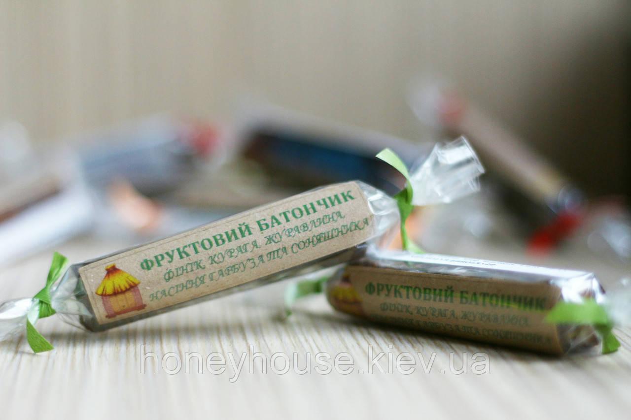 """Фруктовый батончик №4 ТМ """"Медова Хатинка"""" (25 гр.)"""