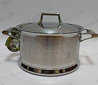 Кастрюля Krauff 26-247-004 с металлической крышкой