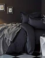 Набор постельного белья с пледом Karaca Home - Charme Siyah 2018-1 черный евро