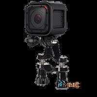 Крепление на руль, трубу Handlebar Mount для экшн камер GoPro, SJCAM