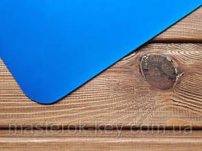Искусственная кожа Лак mikrofibra Италия цвет ярко-синий мат
