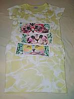 Летняя туника-платье для девочки