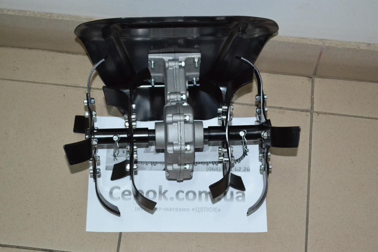 Насадка культиватор для бензокос, 9зубів, 26мм штанга, фото 1
