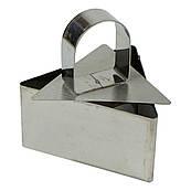 Форма для гарнира со втулкой Треугольник 4см