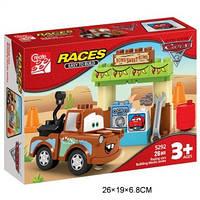 Конструктор RACES 5292 Тачки 26 деталей в коробке 26*6,8*19