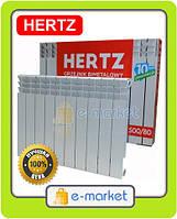 Радиатор биметаллический Hertz (Герц) 500/80. Польша