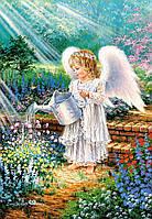Кастор Castorland пазлы на 1000 Подарок Ангела 68*47