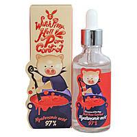 Сыворотка с гиалуроновой кислотой ELIZAVECCA Hell-Pore Control Hyaluronic Acid 97%, оригинал