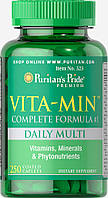Puritans Pride Vita-Min Daily Multi 250 caps
