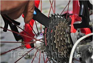 Щітки для чищення велосипедного ланцюга, зірочок, фото 2