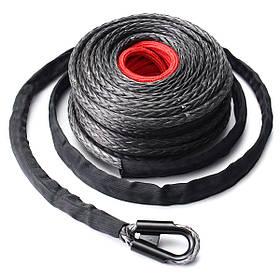 9.5 мм x28m Синтетический кабель для лебедки Веревка 20500LBs ATV SUV Recovery Веревка 1TopShop