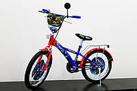 """Велосипед двухколесный 20 дюймов """"Трансформеры"""" со звонком, зеркалом, ручным тормозом"""