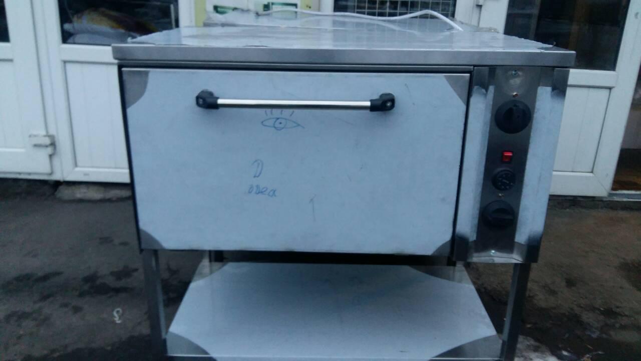 Жарочный пекарский шкаф электрический конвекционный 1-но секционный с полкой